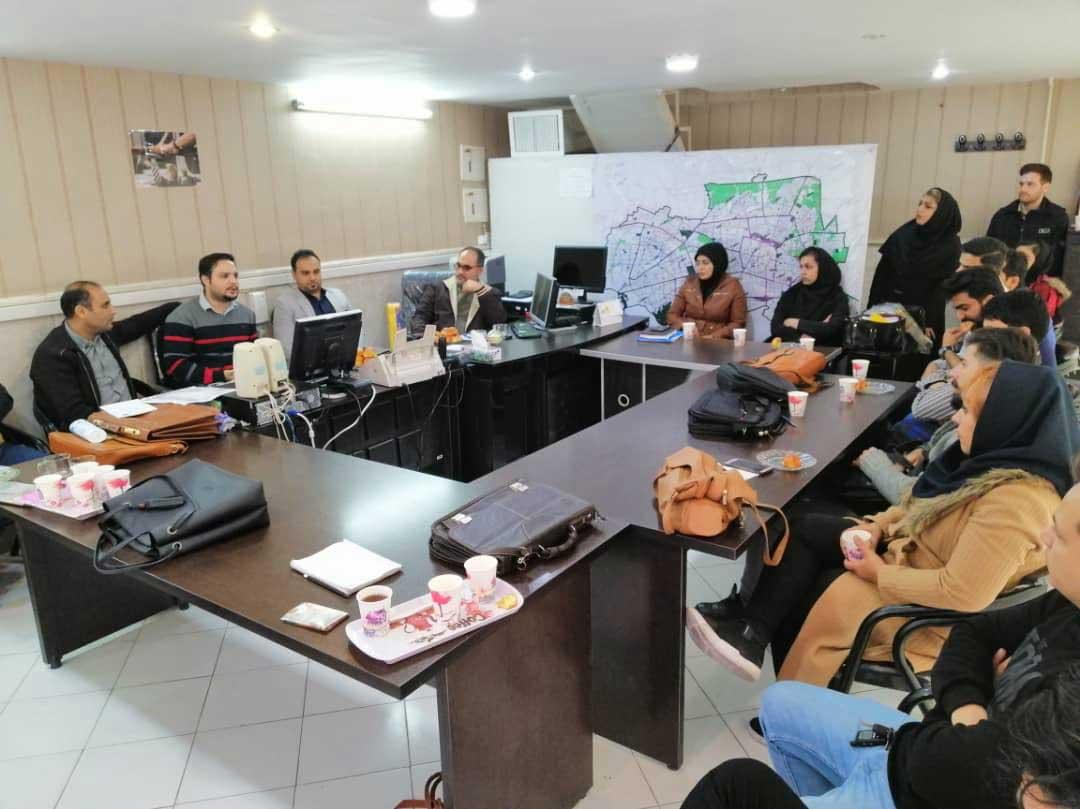 ملاقات با مدیران فروش شرکت ستاره میزبان پارسیان در مشهد